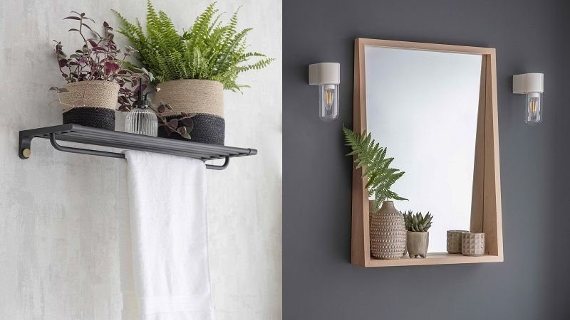 Rostliny do koupelny patří. Skvěle doladí přírodní styl