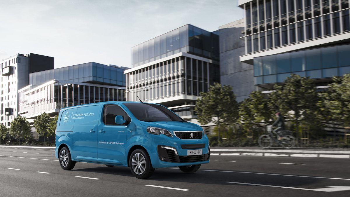 Další vodíková dodávka. Peugeot ukazuje e-Expert Hydrogen