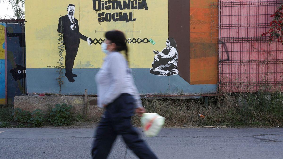 Lockdown pro sedm milionů lidí v Chile