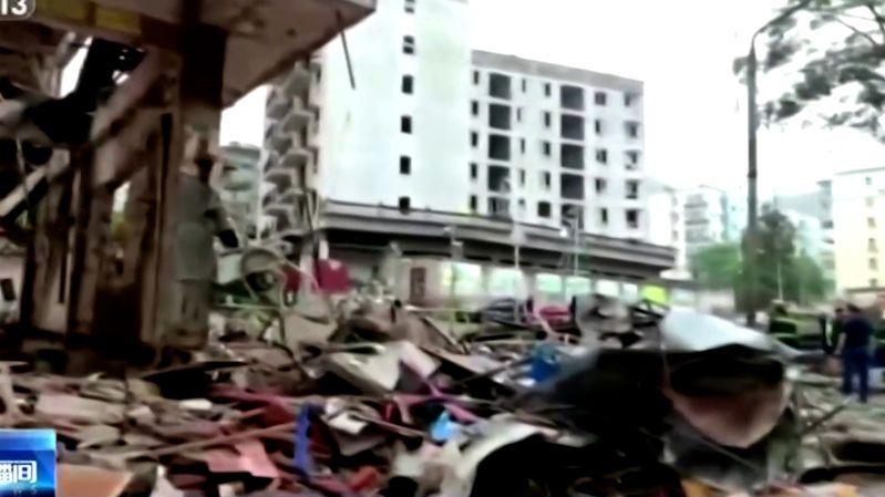 Výbuch plynu v Číně zabil 12 lidí. Nemocnice mají nedostatek krve na záchranu desítek zraněných