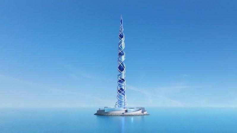 Druhou nejvyšší budovu na světě plánují postavit skotští architekti v Rusku