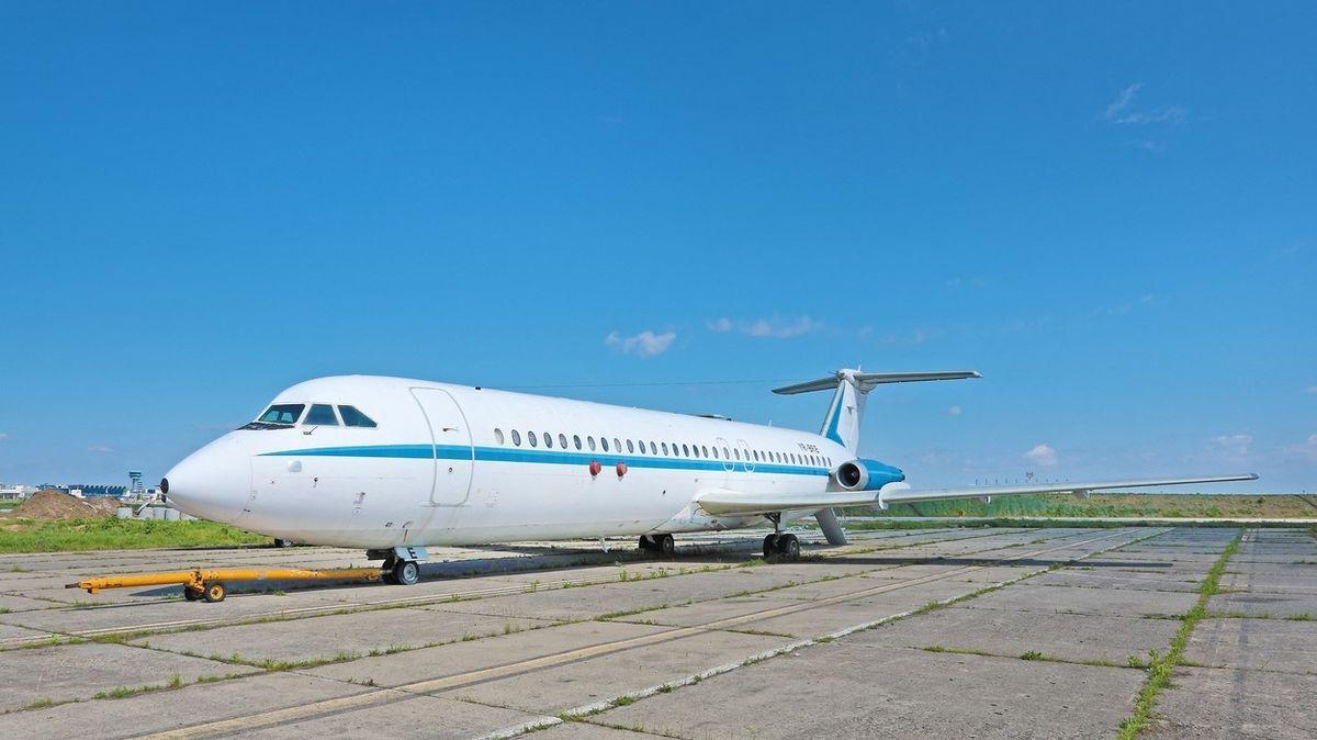 Letadlo rumunského diktátora Ceaușesca jde do dražby