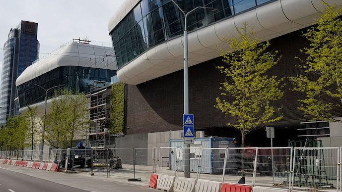 Nové autobusové nádraží v Bratislavě bude mít zelenou fasádu, která přispěje k čistému ovzduší v okolí