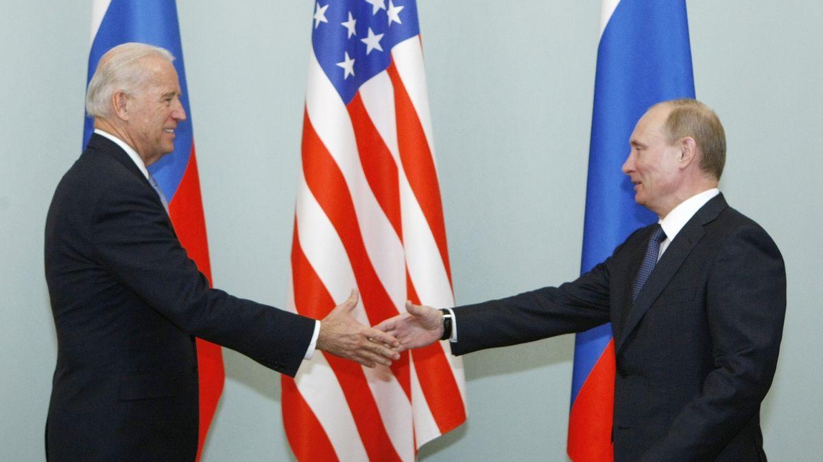 Biden se s Putinem setká v Ženevě