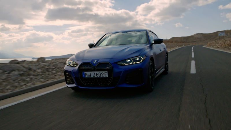 BMW představuje první elektromobil od divize M
