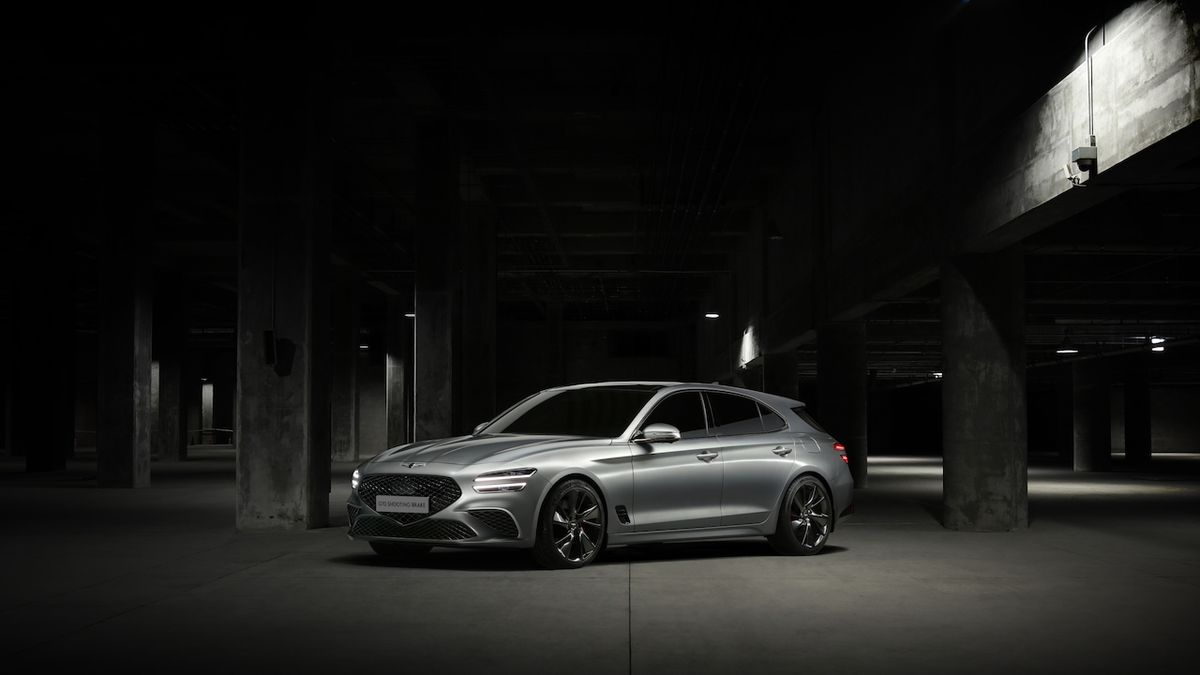 Luxusní odnož Hyundai se chystá do Evropy, představila stylové kombi