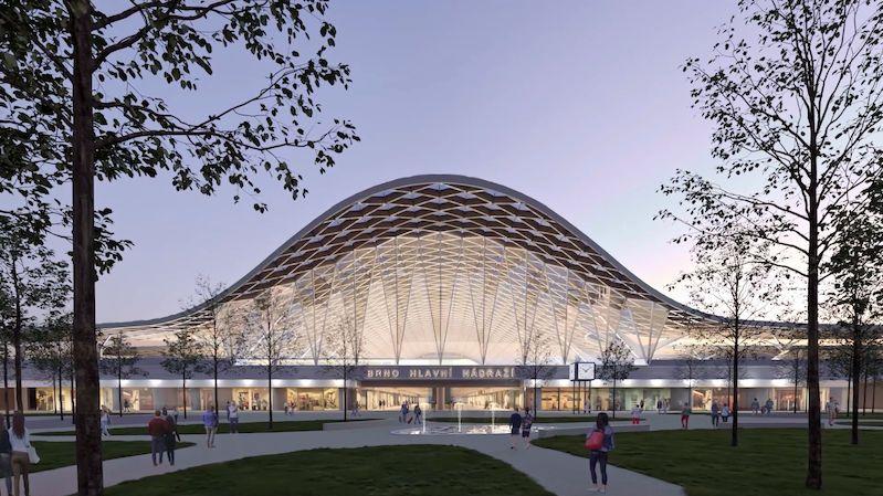 Brno vybralo podobu nového nádraží
