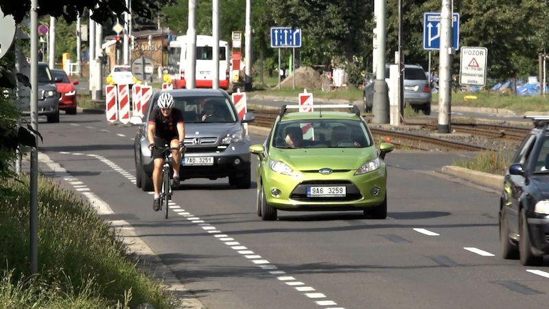 Pražský magistrát se zhlédl v cyklostezkách. Někde ale budí kontroverze