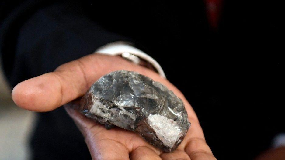 V Botswaně vytěžili třetí největší diamant na světě