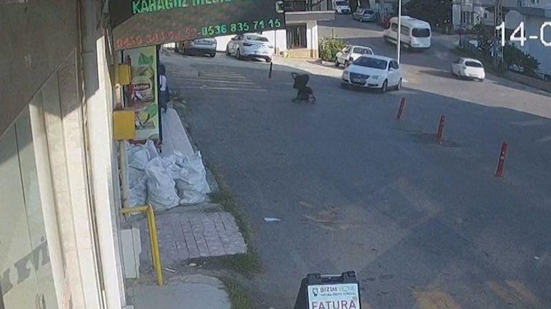 Turkyně nezabrzdila kočárek. Dítě se po dlouhé jízdě z kopce zřítilo z třímetrového srázu