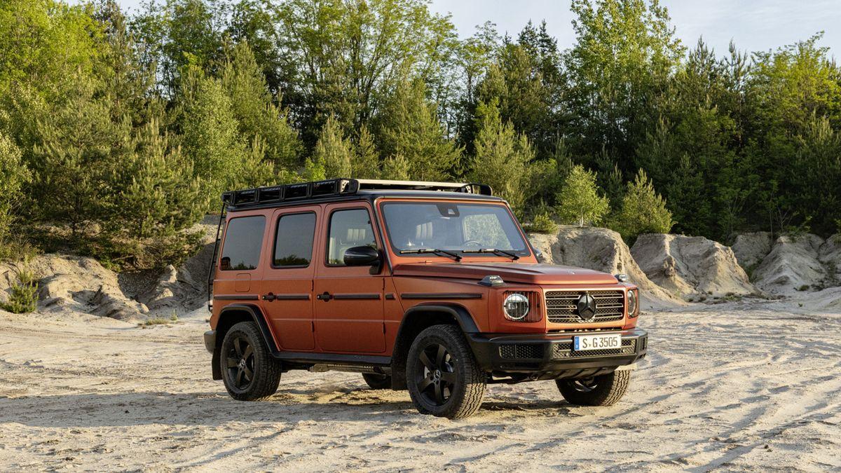 Mercedes třídy G dostal pracovní verzi Professional