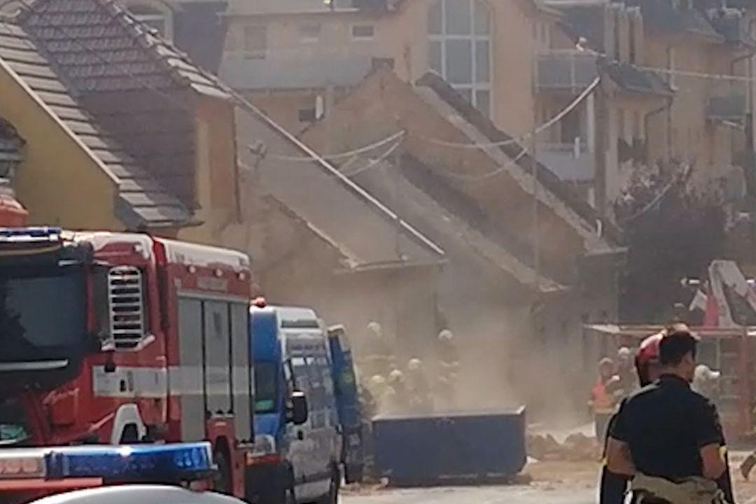 Výbuch v domě v Koryčanech