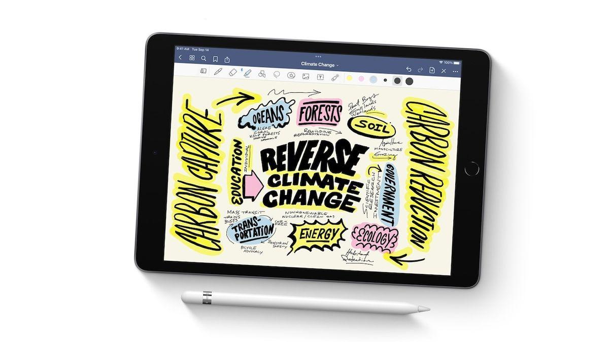 Apple iPad (2021) s 10,2palcovou obrazovkou