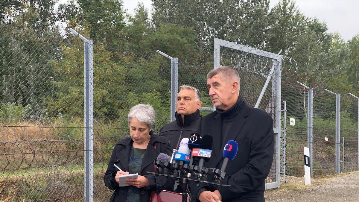 Babiš chce poslat kvůli uprchlíkům do Maďarska vojáky. Hlídali by plot