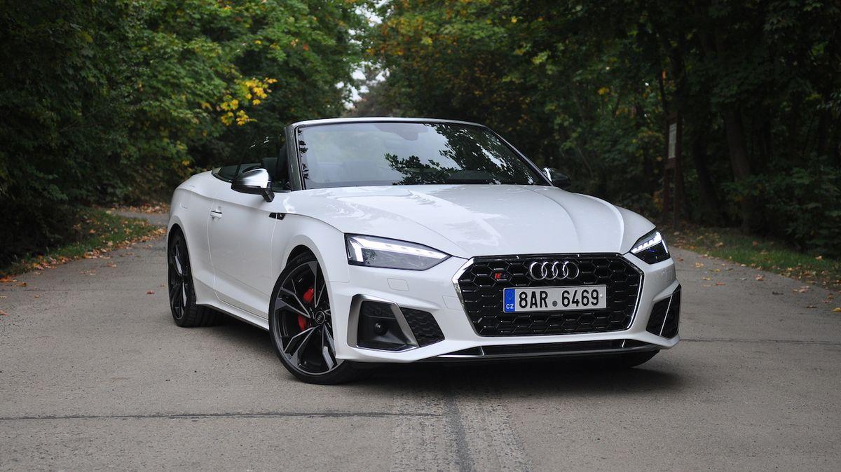 Test Audi S5 Cabriolet: O víkendu pobaví, v pondělí nezklame