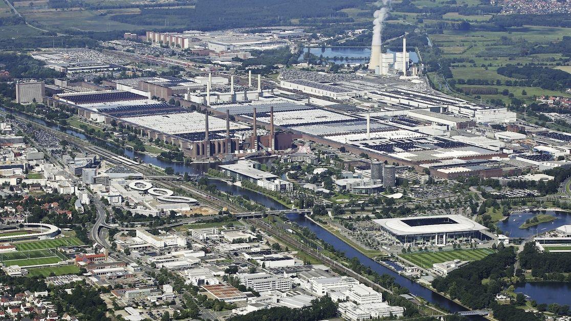 Výrobní závod Volkswagenu ve Wolfsburgu