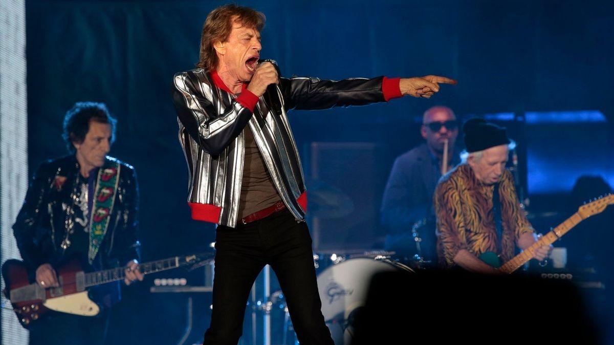 Rolling Stones na koncertě v americkém St. Louis