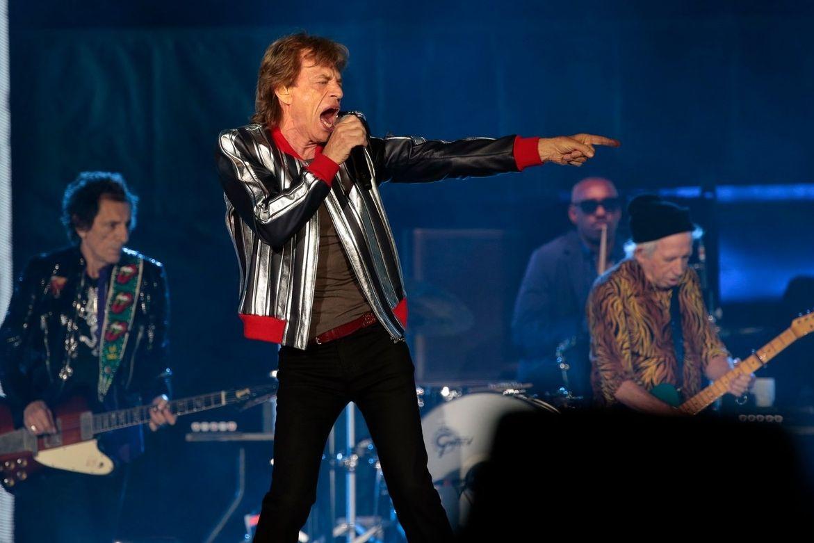 Rolling Stones na koncertě v St. Louis