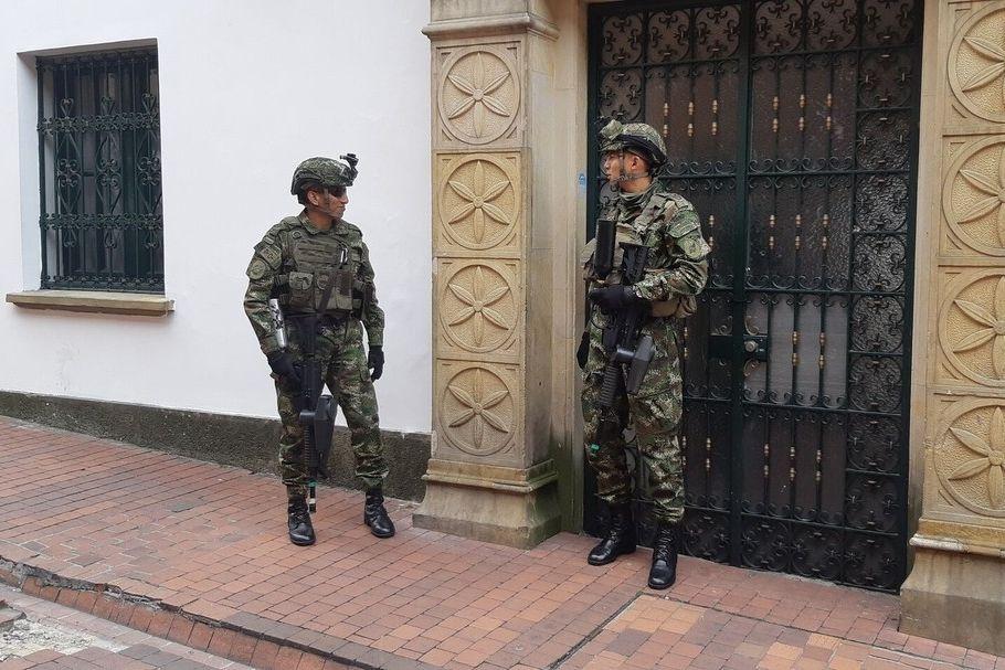 Policie v Kolumbii