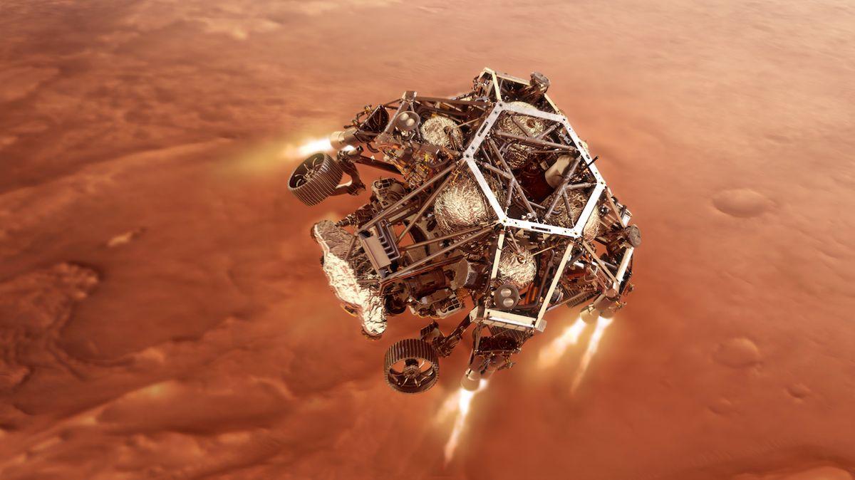 Nové vozítko NASA bude z Marsu posílat i zvuk. Přistát má v polovině února