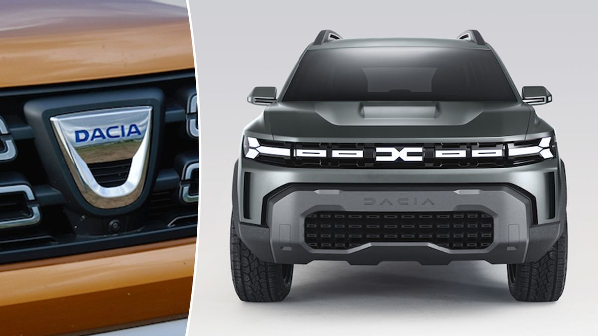 Koncept Dacia Bigster ukazuje nové logo značky