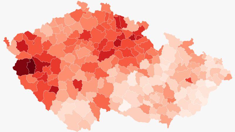 Šíření nákazy v Čechách pokračuje, Morava a Slezsko se zatím drží