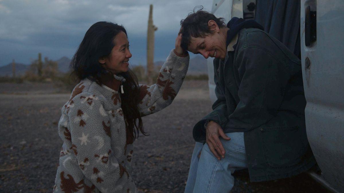Cenu BAFTA za nejlepší film získala Země nomádů