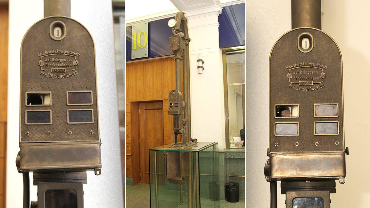 Poštovní potrubí v Praze je unikátem. Důležitou roli hrálo za války, poslední kapkou byla povodeň