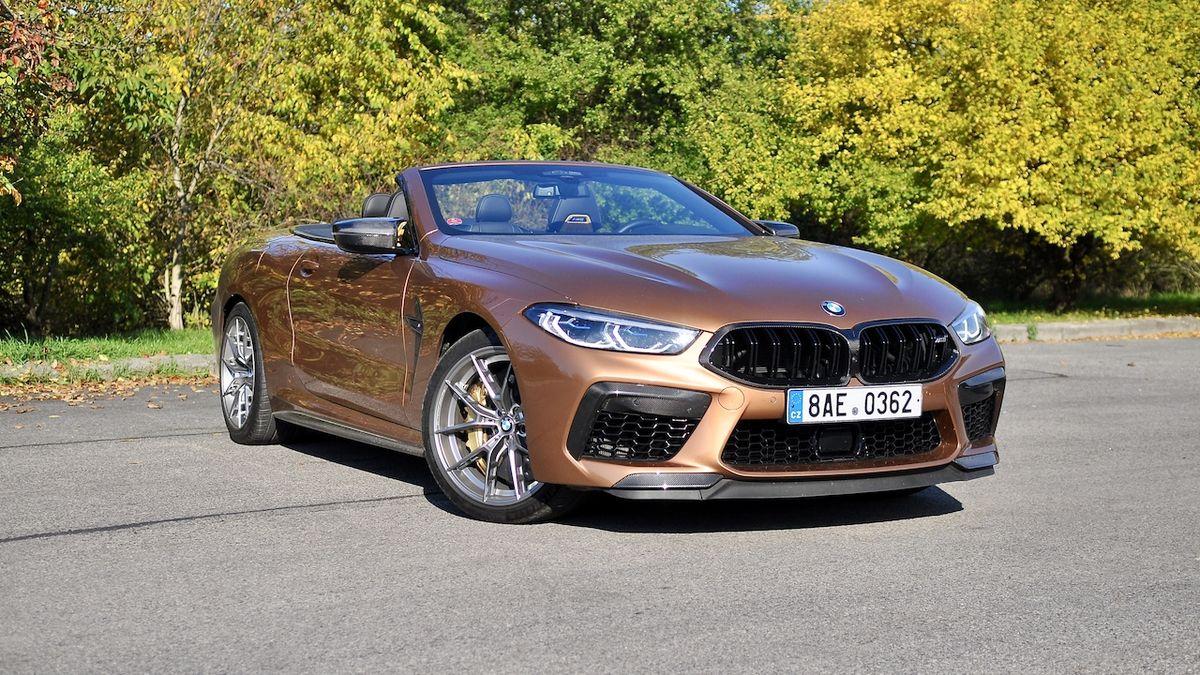 Test BMW M8 Competition Cabrio: Co všechno dnes umí auto bez střechy