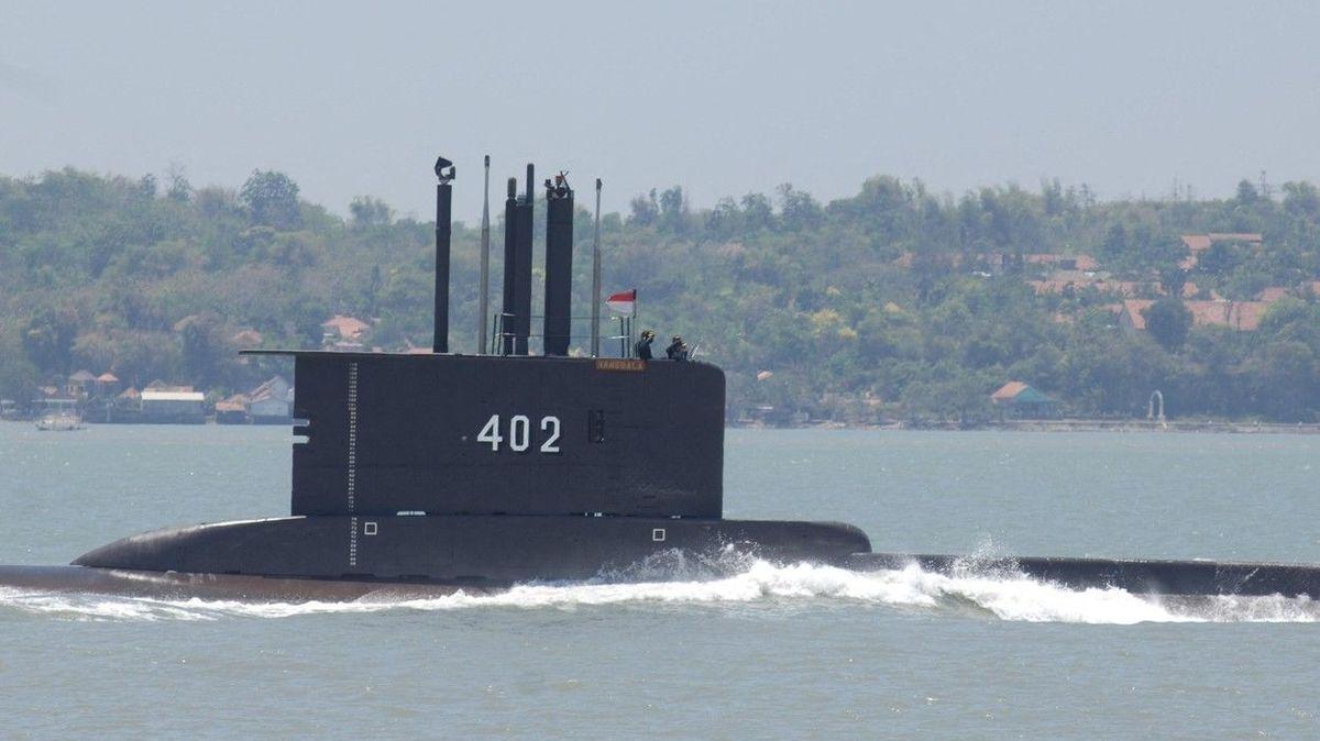 U Bali se ztratila ponorka indonéského námořnictva, na palubě 53 osob