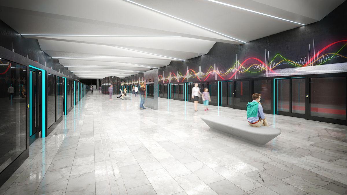 Místo metra měla vPraze jezdit podzemní tramvaj