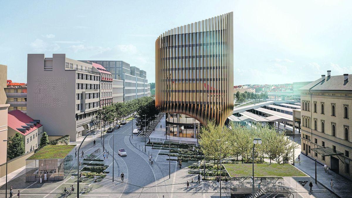 Masarykovo nádraží v Praze oživí nové náměstí