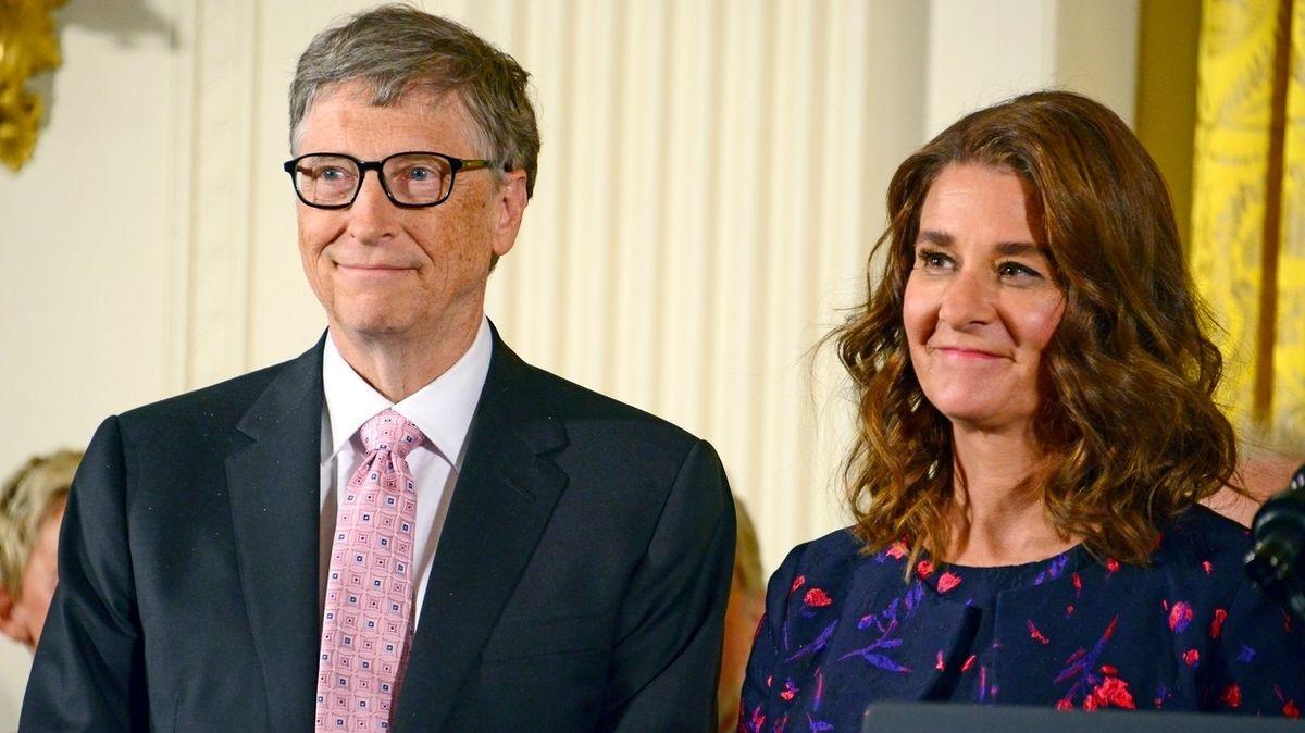 Bill Gates se po 27 letech manželství rozvádí