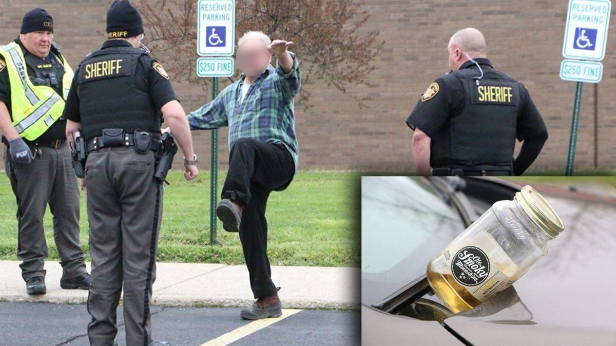 Policejní akci proti alkoholu za volantem narušil opilý řidič