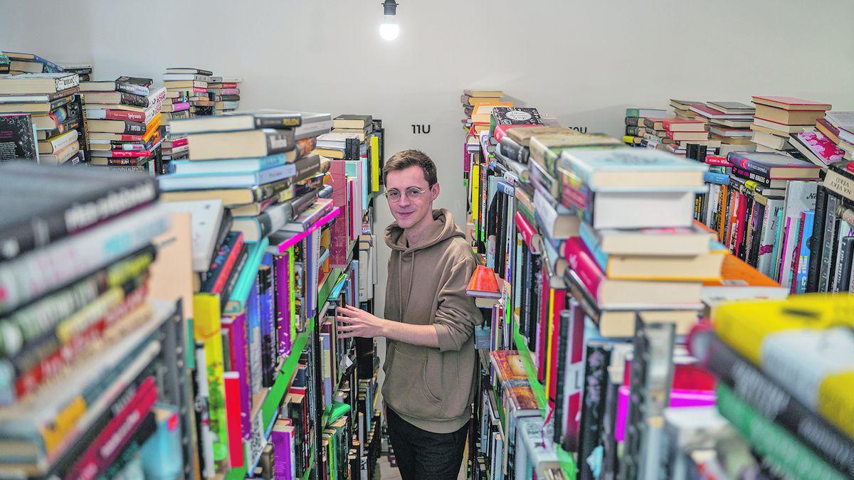 Stačí fotka a přečtené knihy prodáte