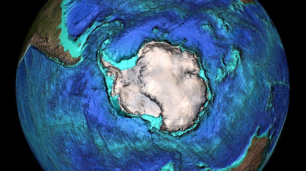 V mapách přibude pátý oceán