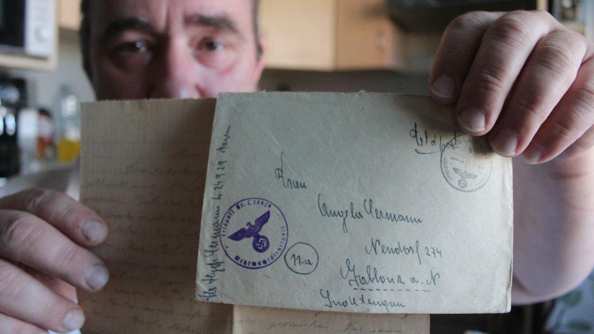 Milovník historie odkrývá díky dopisům osudy vojáka wehrmachtu