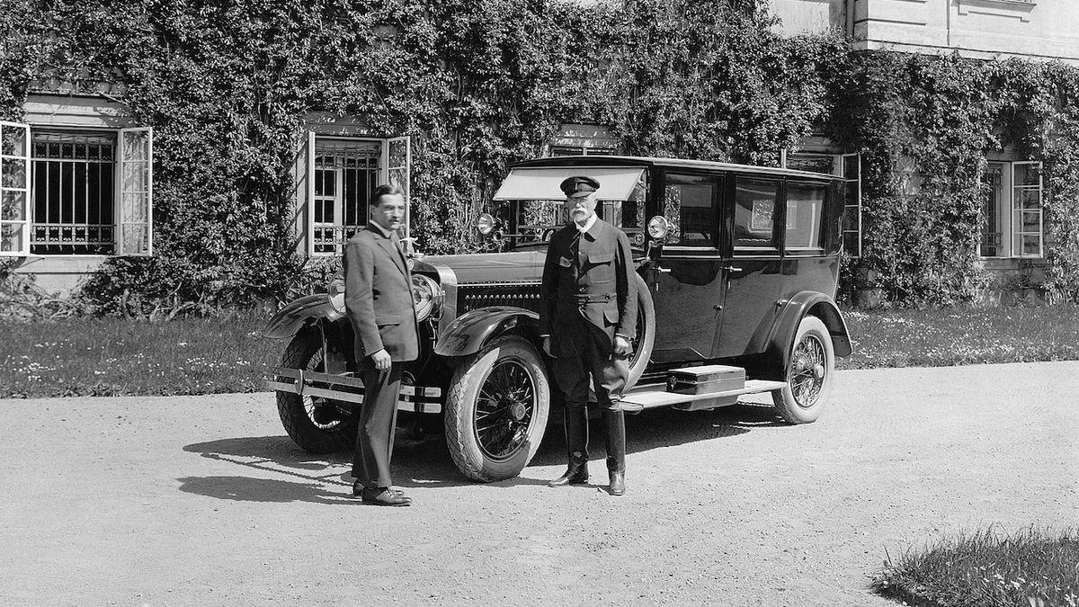 Před 95 lety byl vyroben první automobil s logem Škoda