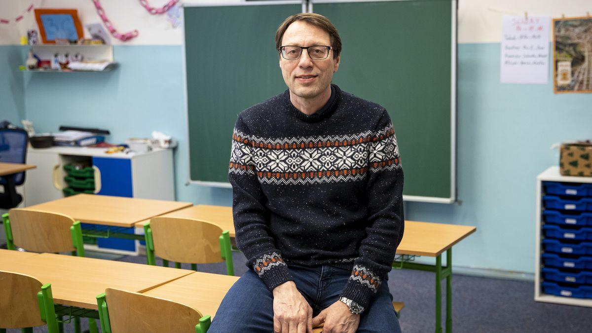 Předseda Asociace ředitelů základních škol České republiky Michal Černý (na snímku z 2. února 2021).