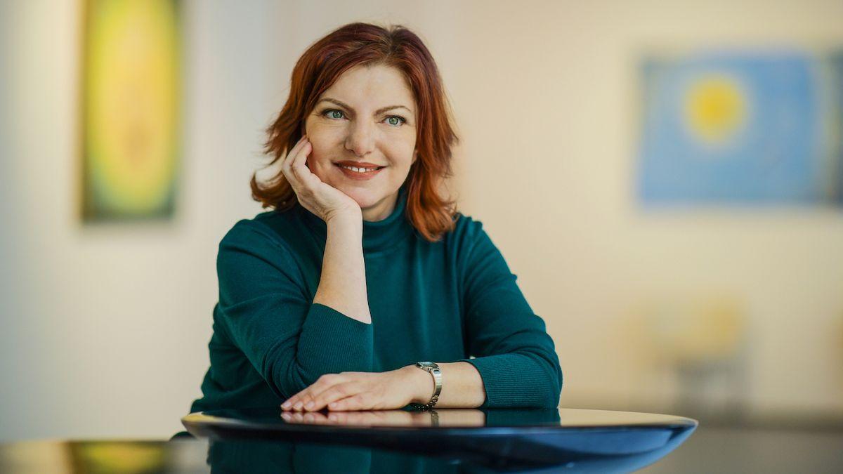 Alena Mornštajnová: Listopád je moje nejosobnější kniha