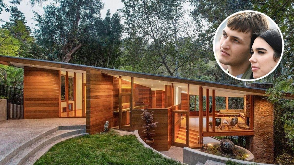 Model ze slavné rodiny si pořídil dřevěný skvost