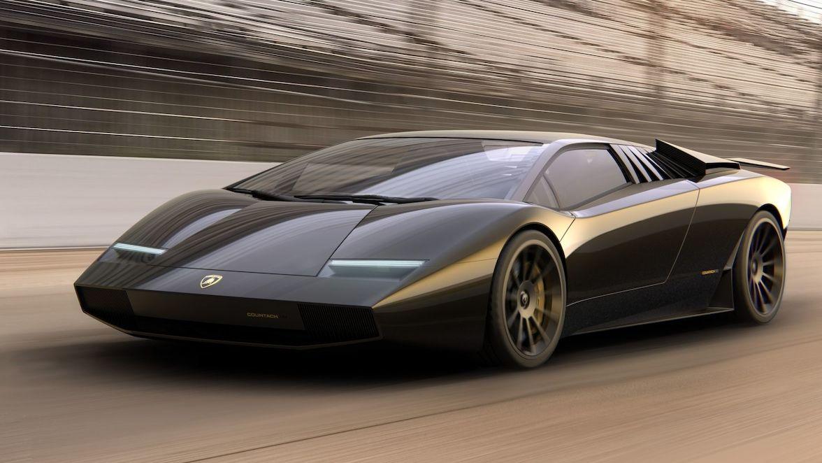 Designové studio uctilo výročí Lamborghini Countach. Dalo mu moderní podobu