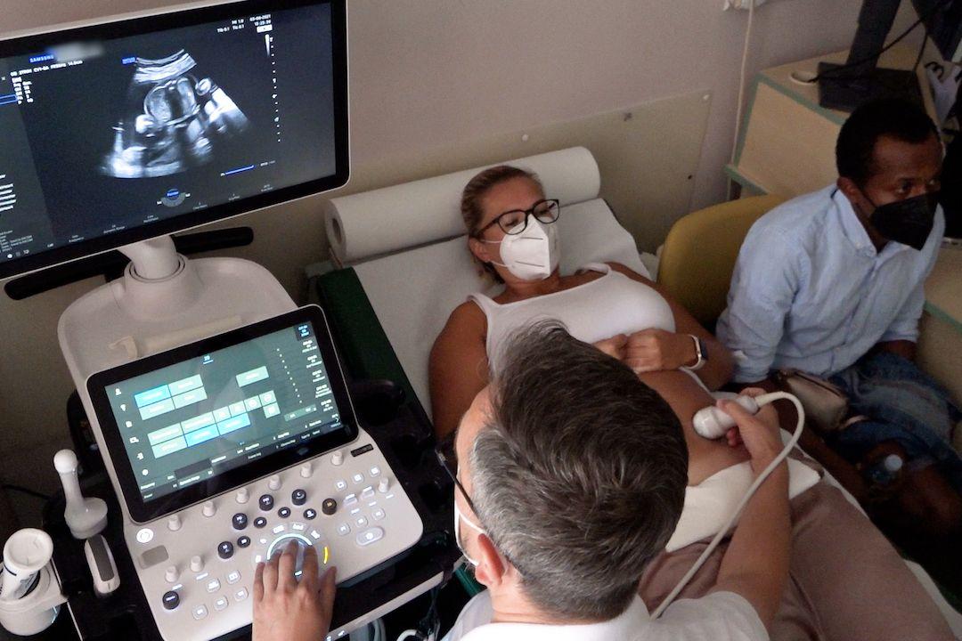 Nastávající rodiče mají v děčínské nemocnici možnost získat 3D model miminka.