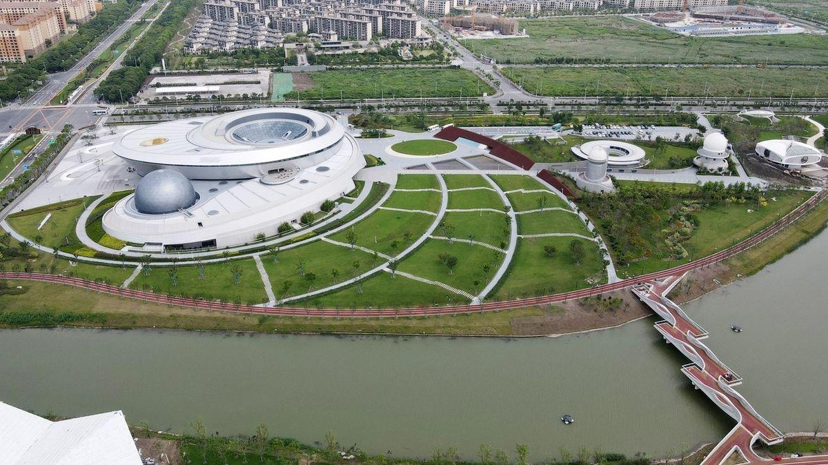 V Šanghaji otevřou největší astronomické muzeum na světě