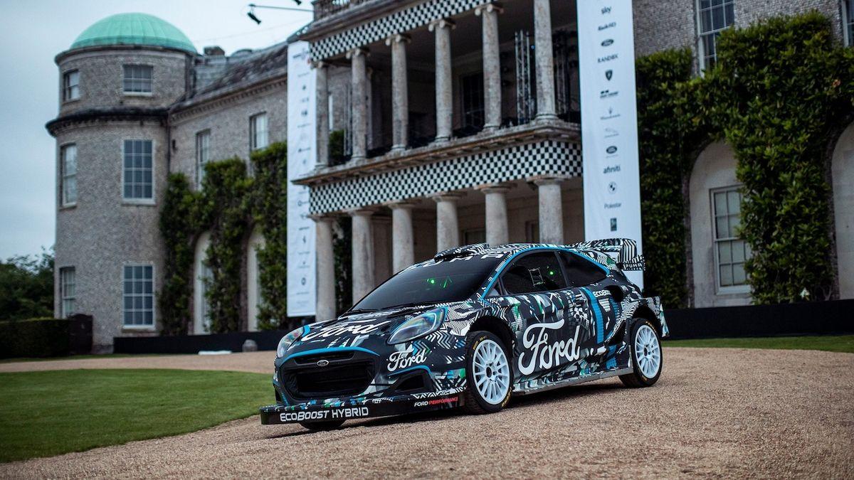 Hybridní Ford Puma míří na tratě Mistrovství světa v rally