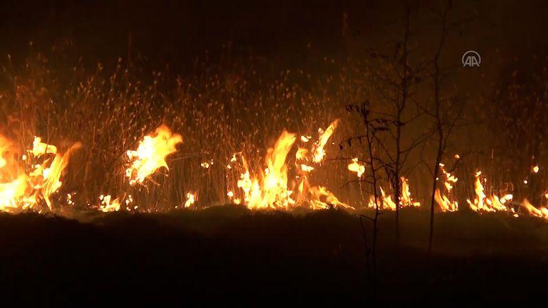 Severní Makedonie vyhlásila kvůli požárům nouzový stav, Bulharsko má dva mrtvé