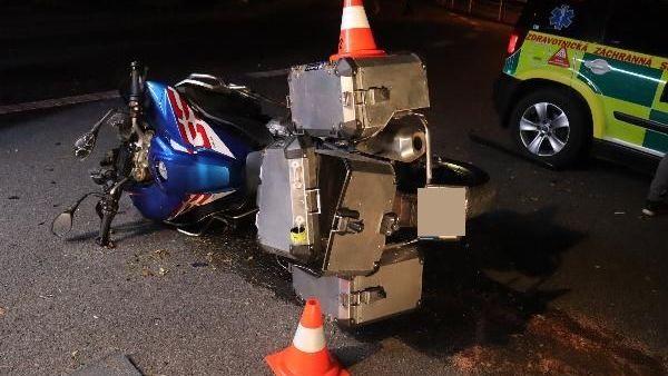 Při nehodách na jihu Moravy se zranilo deset motorkářů