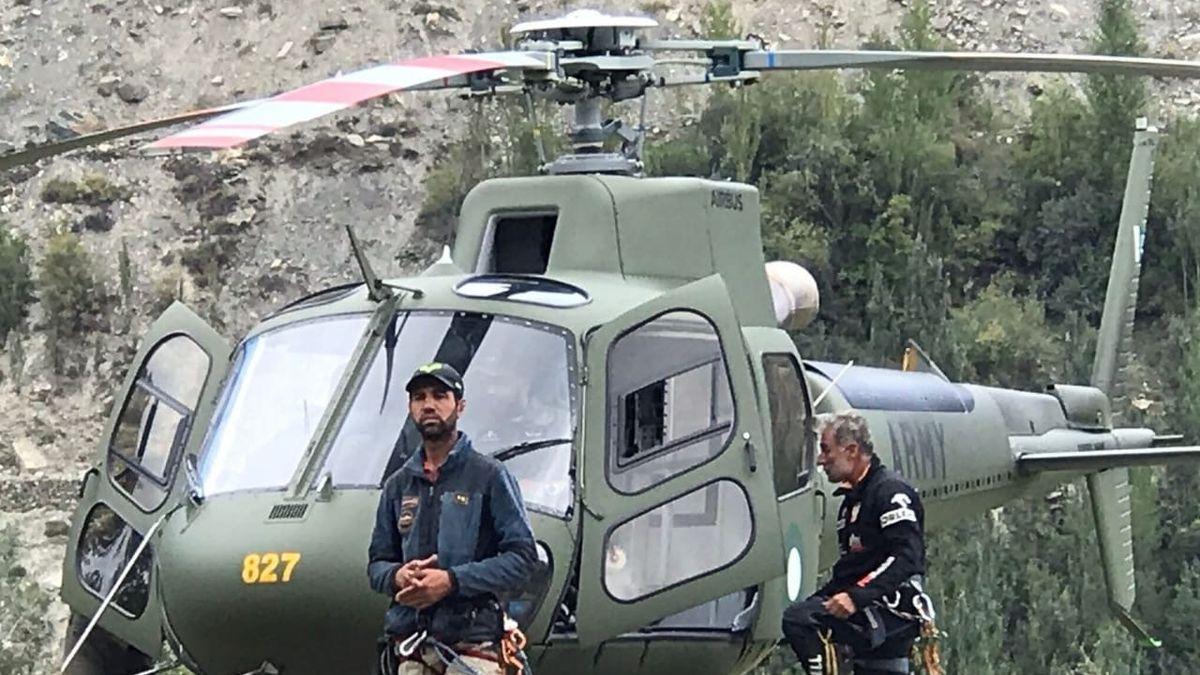 Záchrana dvou horolezců z ČR bude v Pákistánu pokračovat ve středu