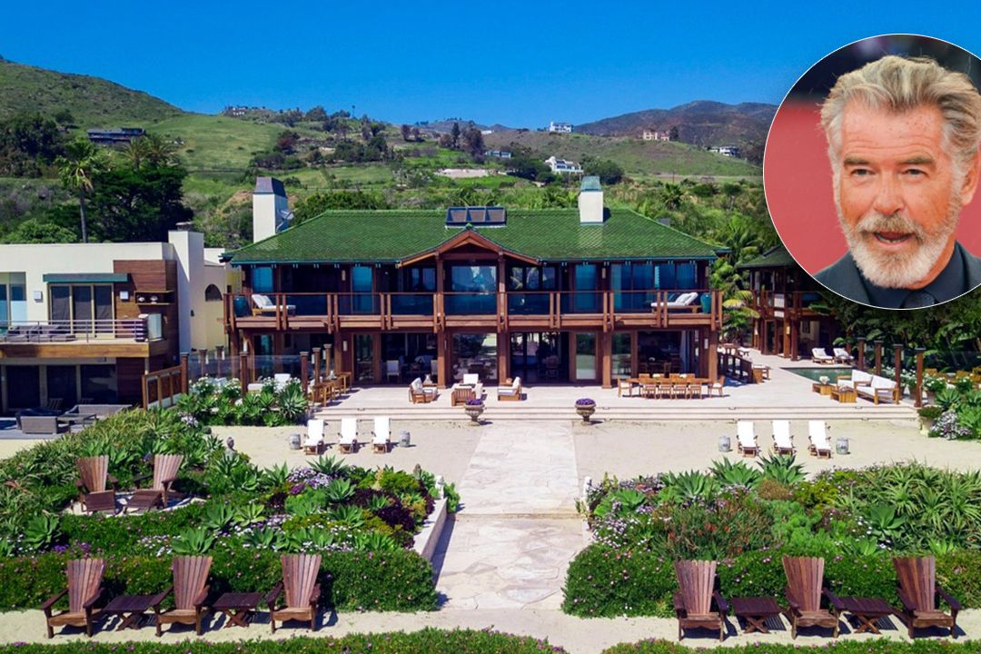 Pierce Brosnan stáhl z prodeje své sídlo v Malibu. Za dvě miliardy je nikdo nechtěl.