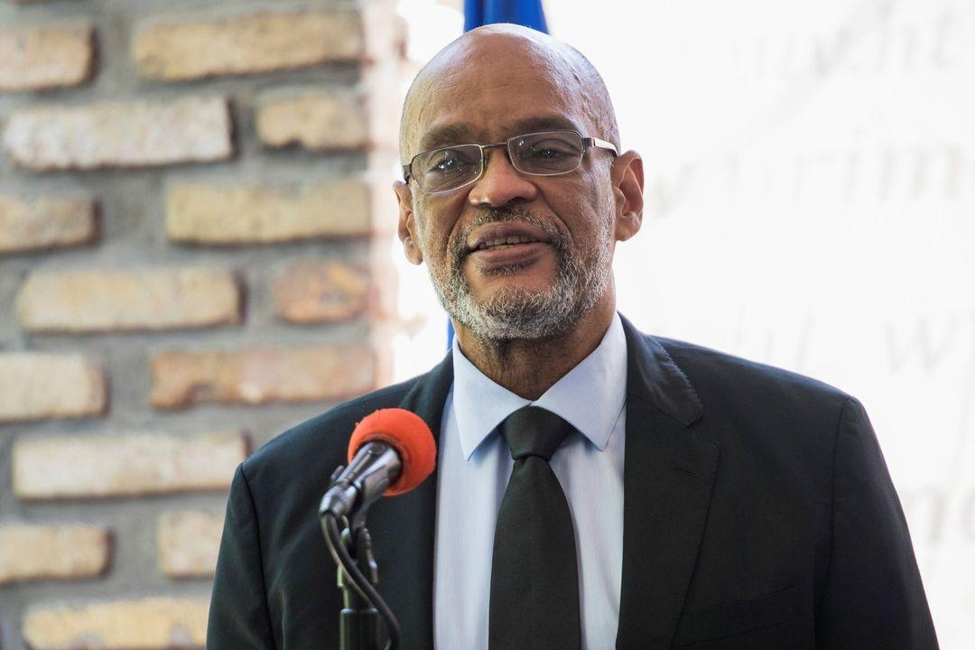 Haitský premiér Ariel Henry